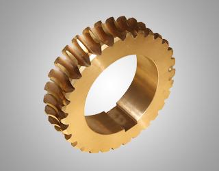 铜涡轮配件